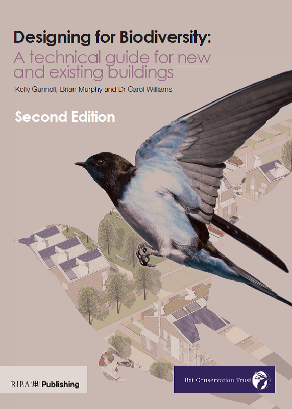 Designing for Biodiversity: a technical guide for new and existing buildings