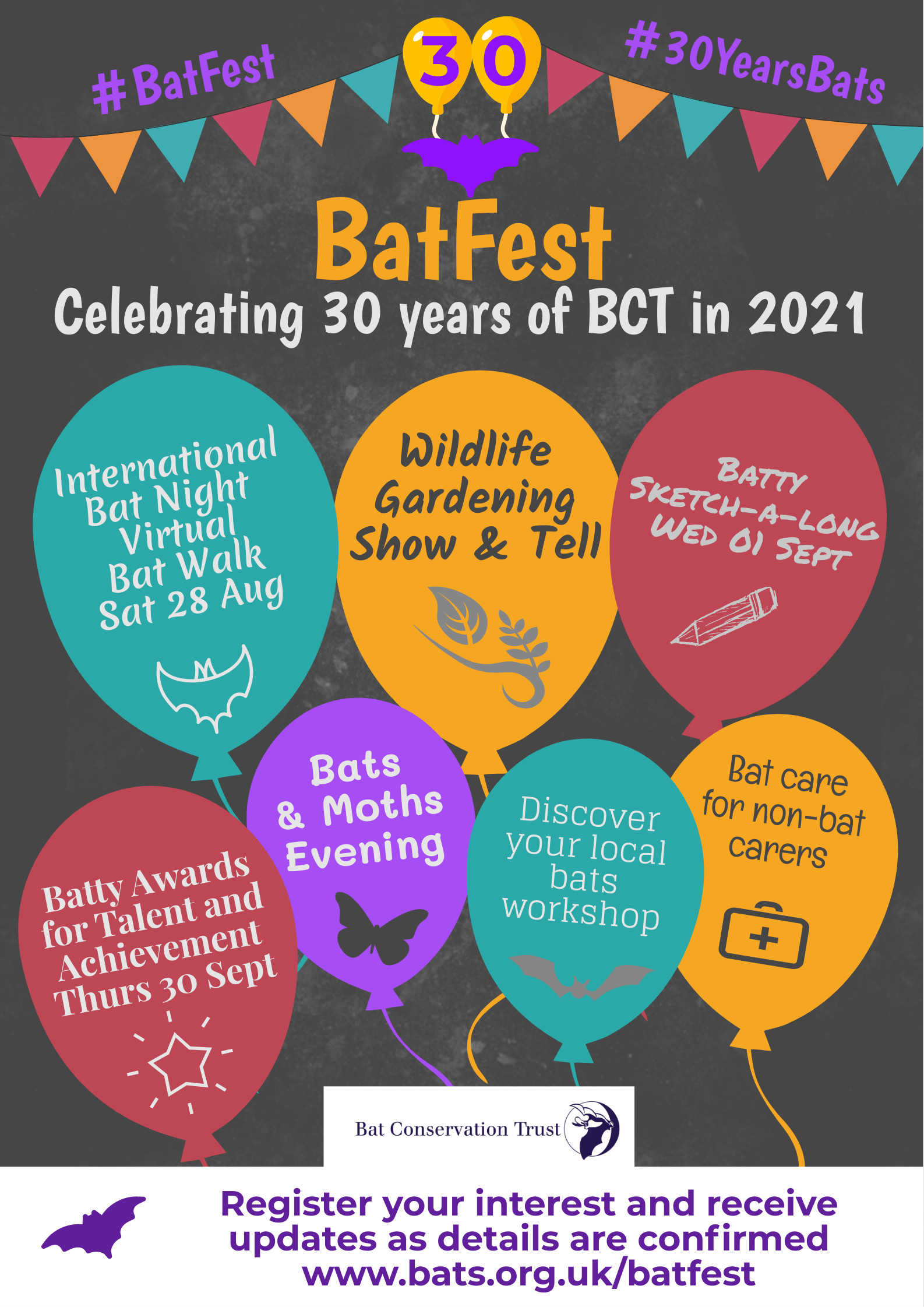 Birthday Time! 30 Years of Bats