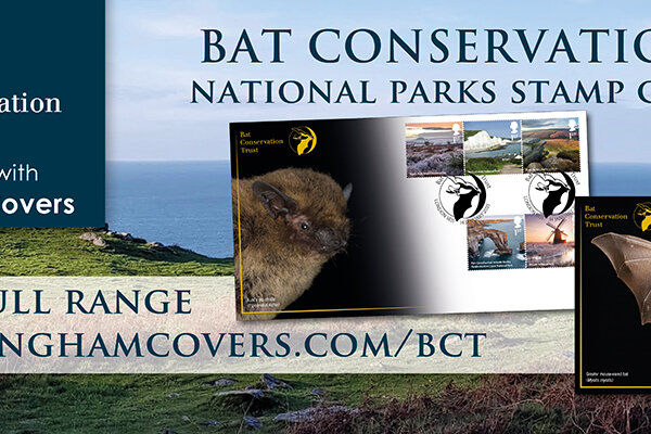 National Parks First Day Covers with bats