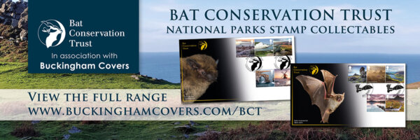 Britain's rarest bats feature on new stamp collectibles