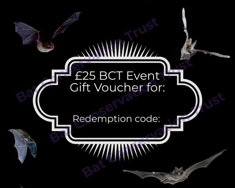 BCT event gift vouchers