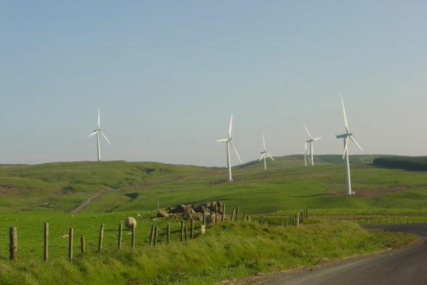 Wind farms and wind turbines