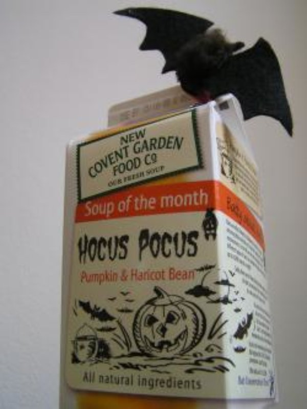 New Covent Garden Co. goes batty for Halloween - again!