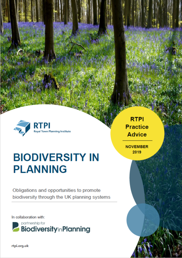 New guide for Planners on Biodiversity in Planning