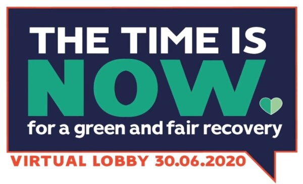 The Time is NOW - Mass Virtual Lobby for a Green Recovery